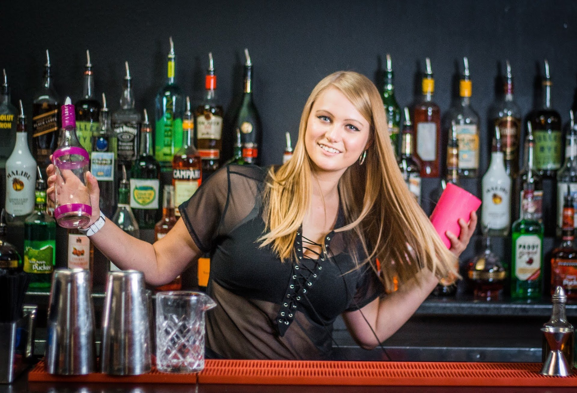 learn to flair with lindsay palumbo flair bartending classes